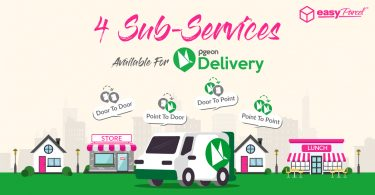 Pgeon Delivery 4 sub-services