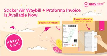 Sticker AWB and Proforma Invoice Are Now Available