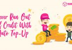 Never Run Out Of EasyParcel Credit With Auto Top Up Function