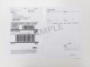 Tutorial How To Attach The Air Waybill Awb After Printing It Out Easyparcel Delivery Made Easy